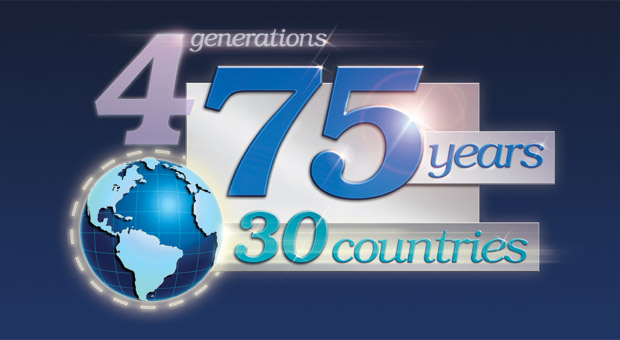 4 Generations, 75 Years, 30 Countries
